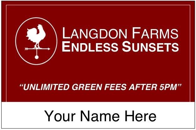 Endless Sunsets Card at Langdon Farms