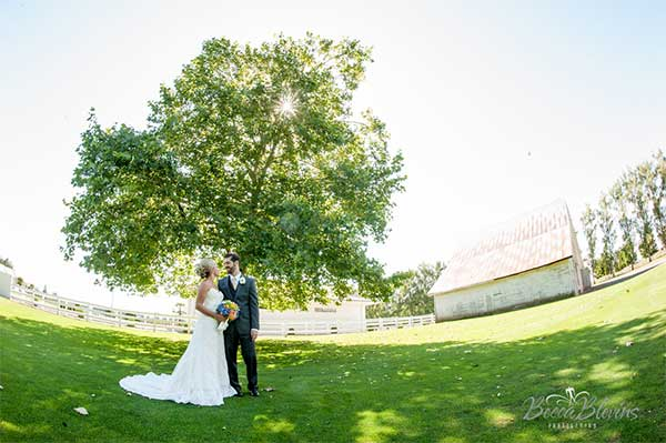 Outdoor wedding venues near Portland