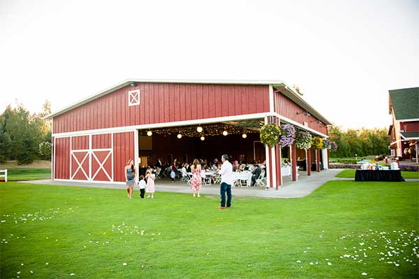 Barn Wedding venues in Oregon