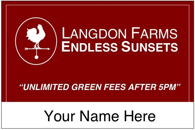 Endless Sunsets Card at Langdon Farms