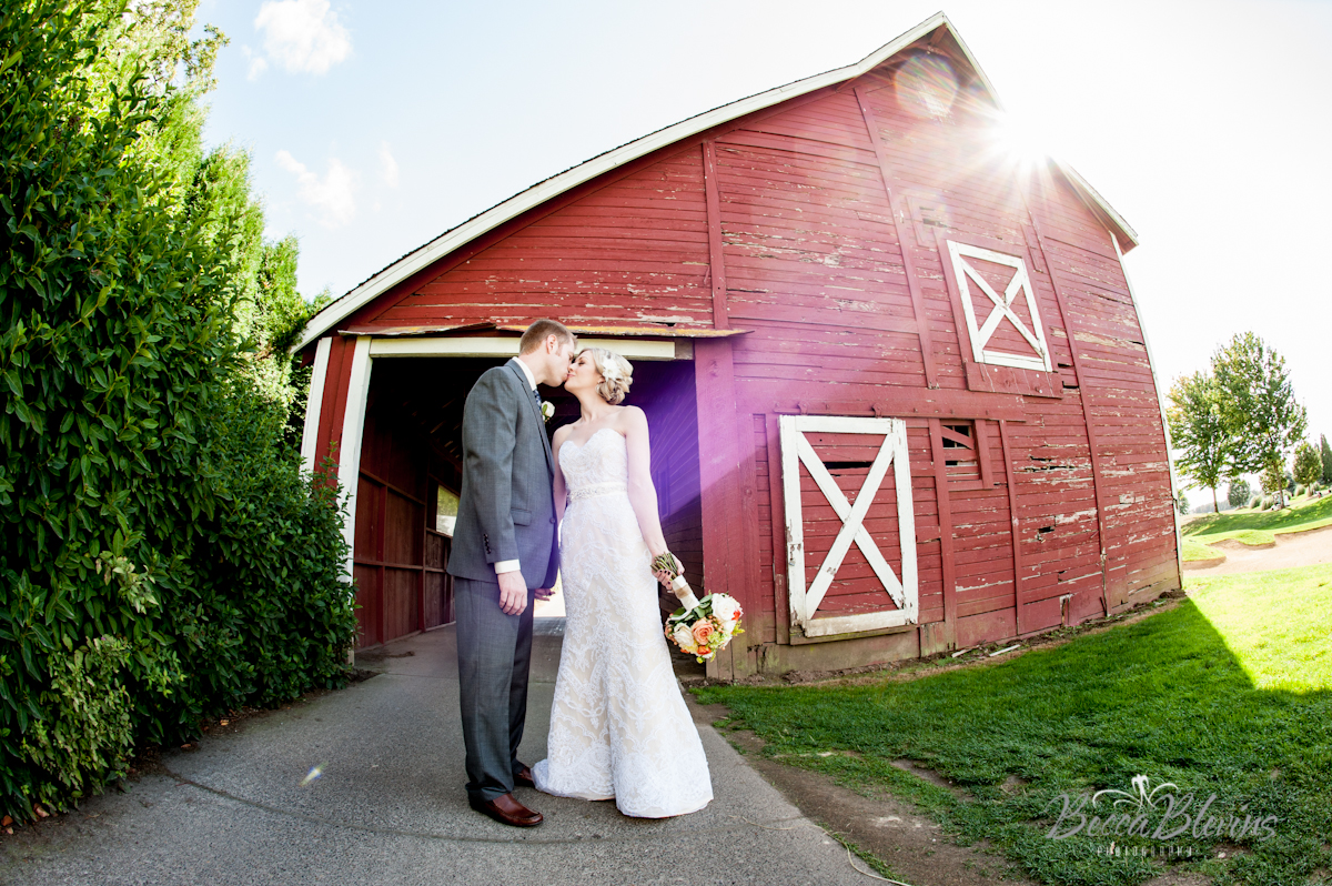 Portland Area Barn Wedding Venue