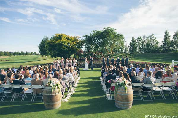 Portland outdoor wedding venues