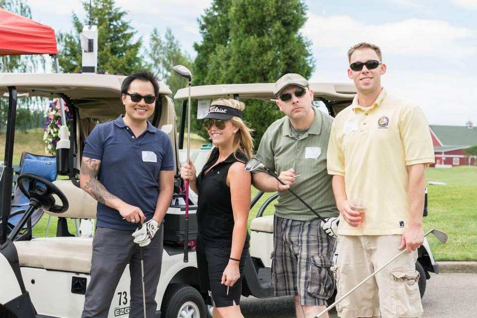 Golf Tournament at Langdon Farms