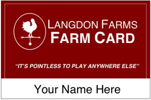 Langdon Farms Farm Card