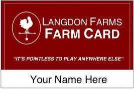 The Farm Card holiday gift